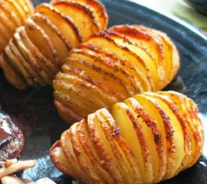 Sliced Bake potatoes
