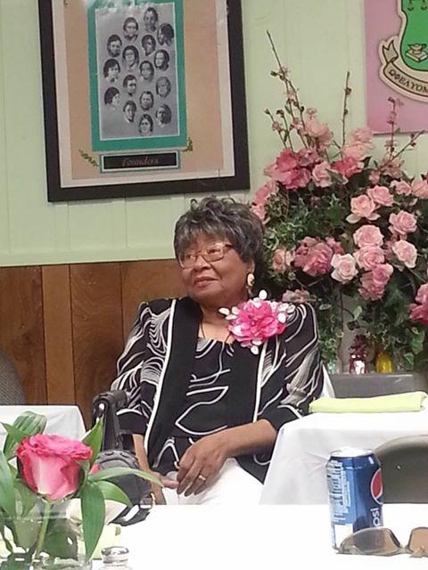 Aunt Gladys birthday