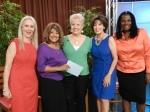 Michelle Levy, Linda Franklin, Karen Head, Lourdes Bryant, Summer Selby-Drew (Hosts of Grown Folk)