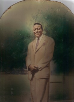 My daddy, Quintell Cooper