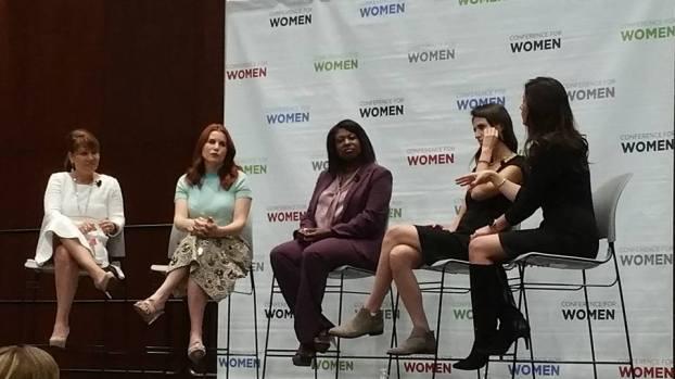 Panel discussing Social Media