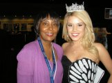 Miss America Teresa Scanlan at Taste of the NFL