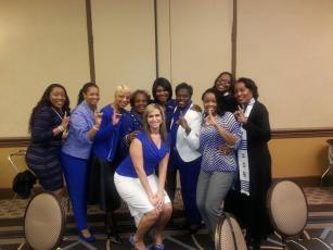 Psi Zeta Chapter of Zeta Phi Beta Sorority