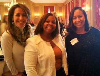 Lisa Graves, Felicia Williams and Tania Foster