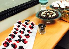 The desserts at Decorating Den