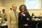 My favorite columnist, Bob Ray Sanders and Dianna Jones