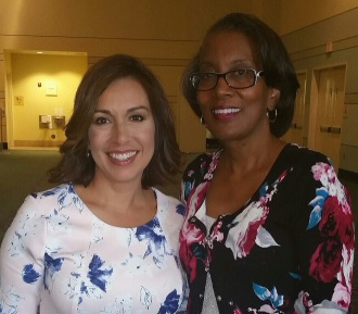 Puttin' on the Pink with NBC 5 news anchor Deborah Ferguson