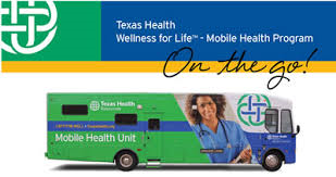 Texas Health Resources Mobile Mammography Unit